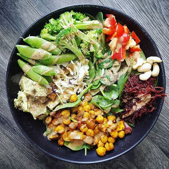 cycliste végétarien
