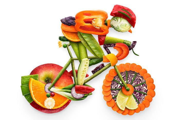 Cycliste végétarien, est-ce possible?