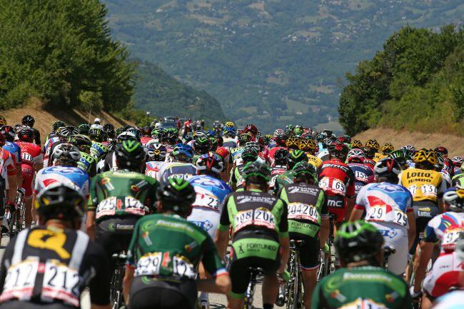 Course cycliste Vuelta Tour d'Espagne en vélo
