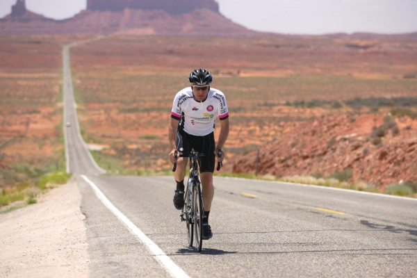 Course cycliste la Race Across America