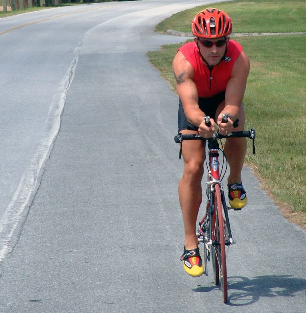 Cycliste seul