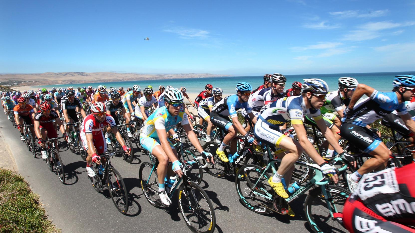 course cycliste Tour Down Under en Australie ​