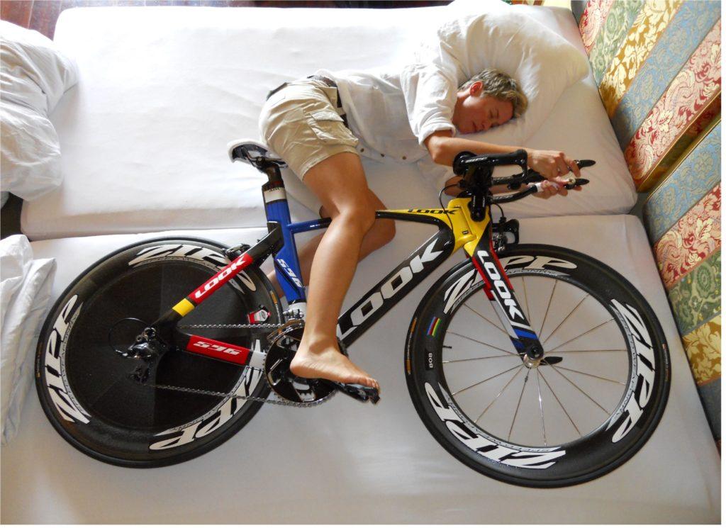 Le repos du cycliste