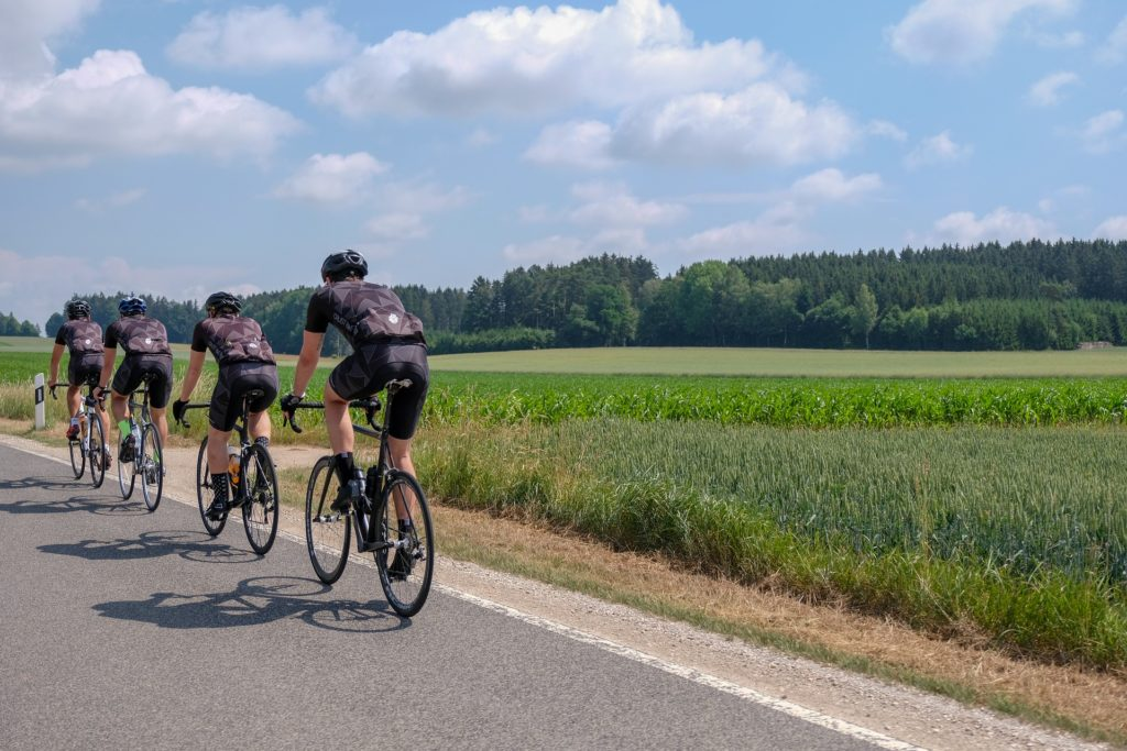 Cyclistes originaux