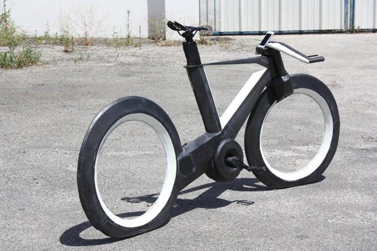 le vélo du futur roues sans rayons