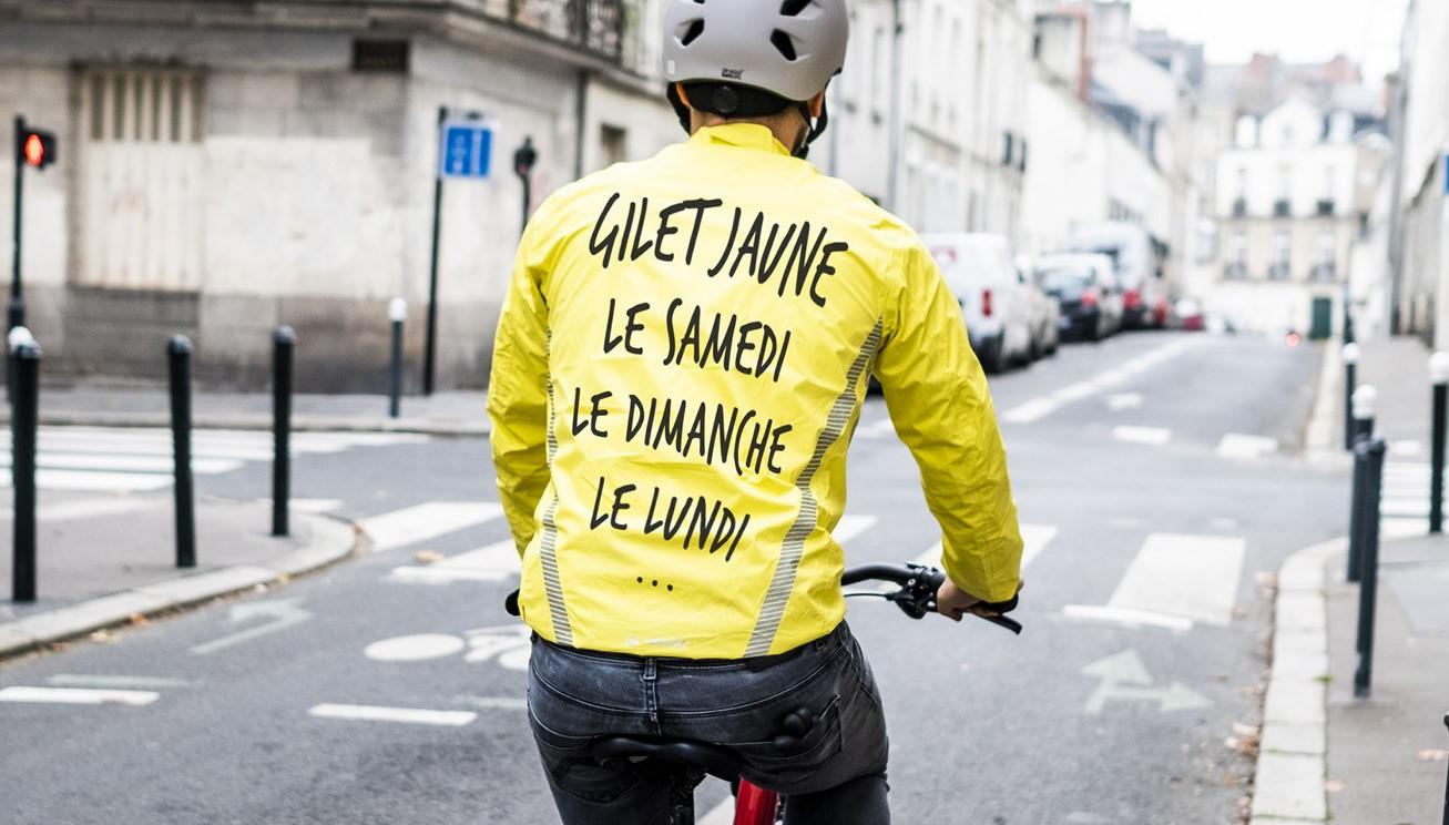 comment savoir si le mouvement des gilets jaunes est compatible avec le cyclisme