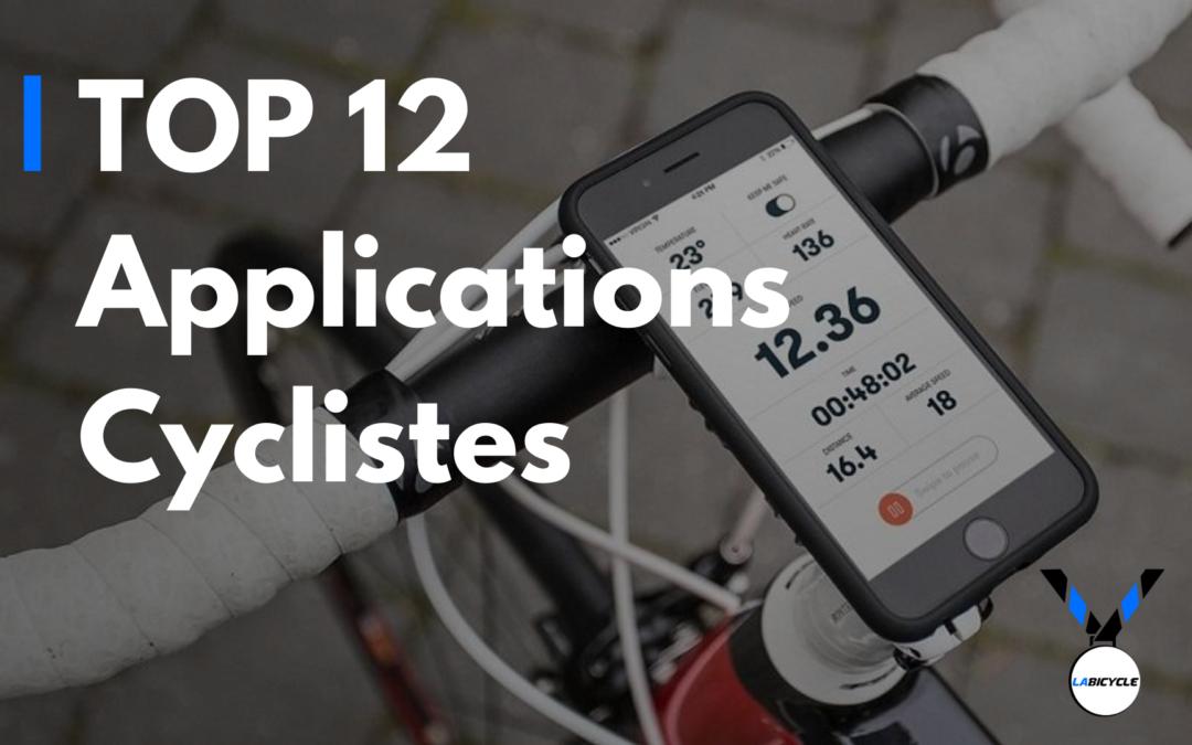 Les 12 meilleures applications vélos 2020 au banc d'essai
