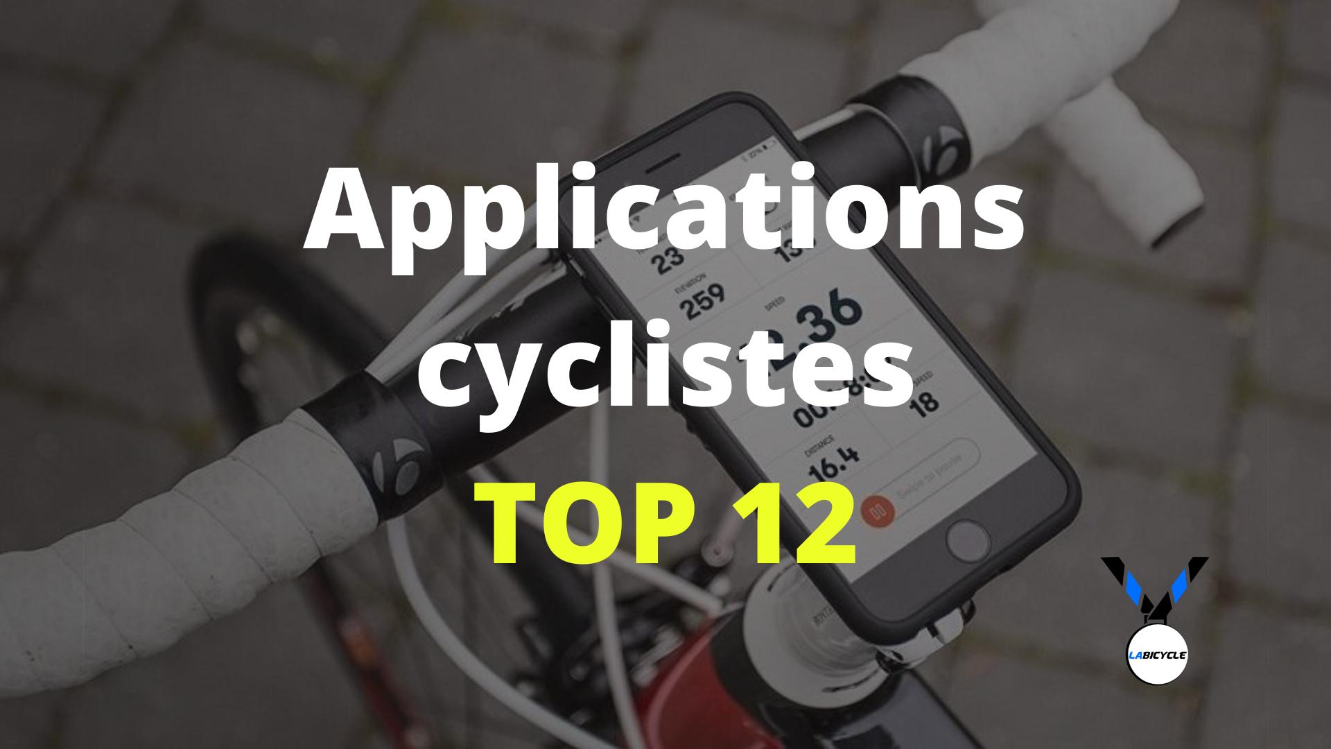 Les meilleures applications cyclistes