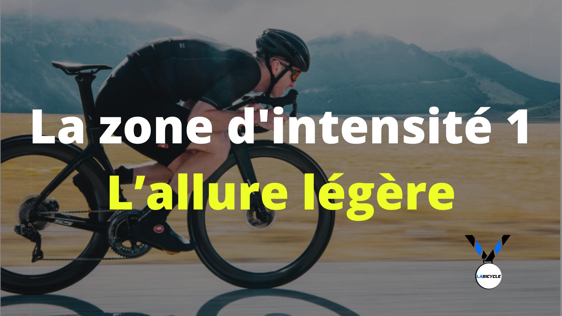 Les zones d'intensité dans le cyclisme