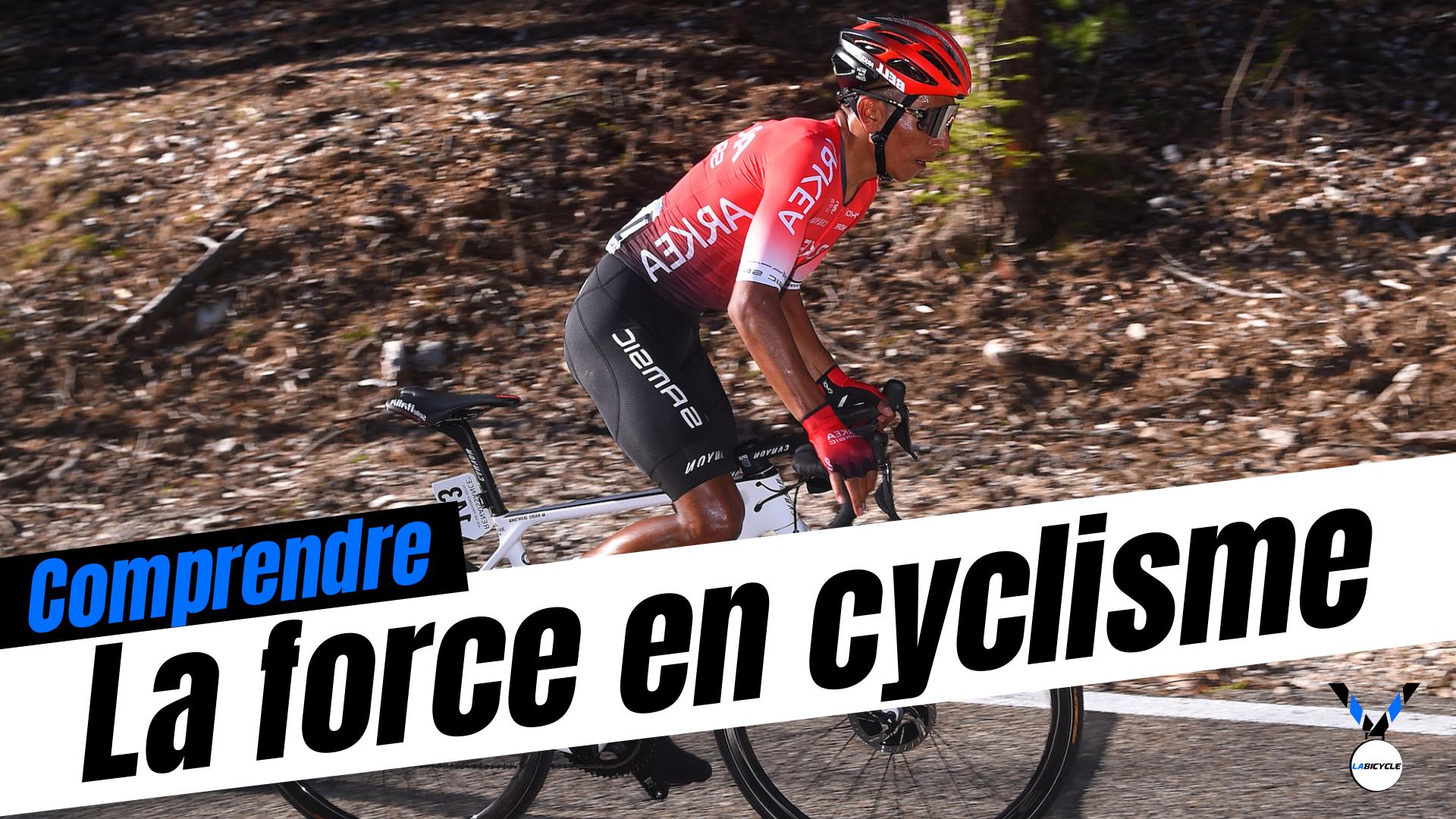 Le force en cyclisme