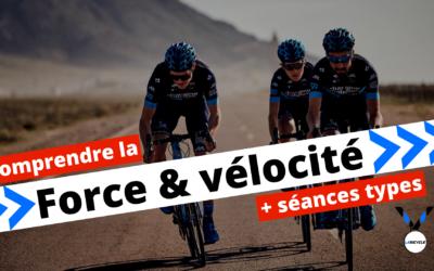 Un bon moyen de gagner en efficience de pédalage cycliste: Le travail de Force/Vélocité