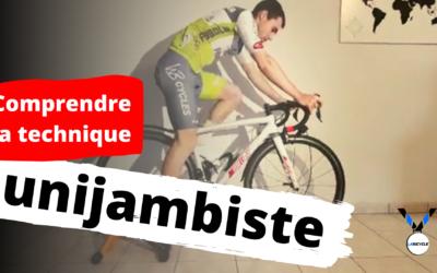 Qu'est ce que l'unijambiste en cyclisme ?