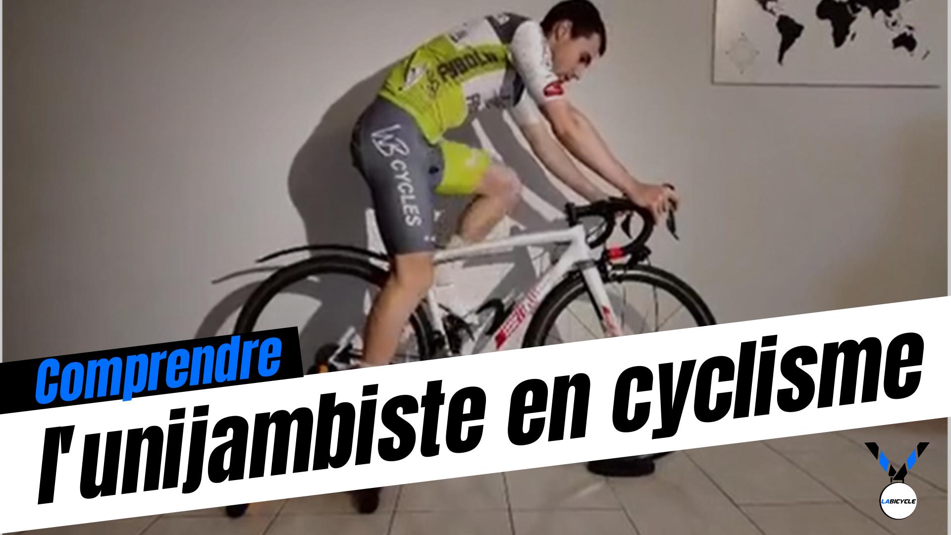 l'unijambiste en cyclisme