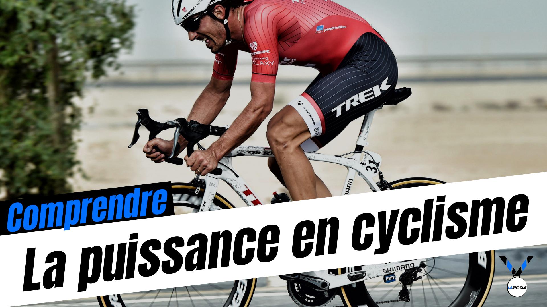 La puissance en cyclisme