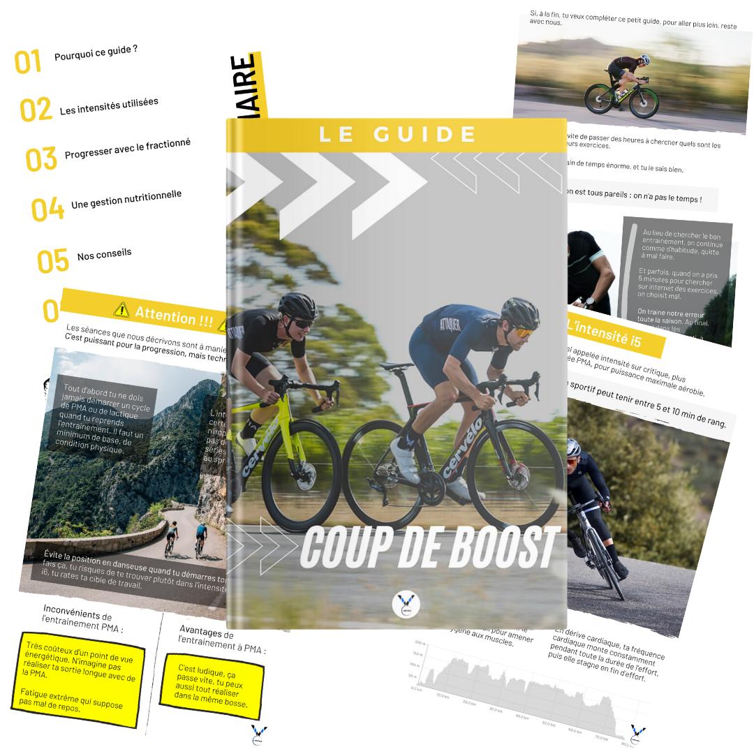 Guide coup de boost cycliste