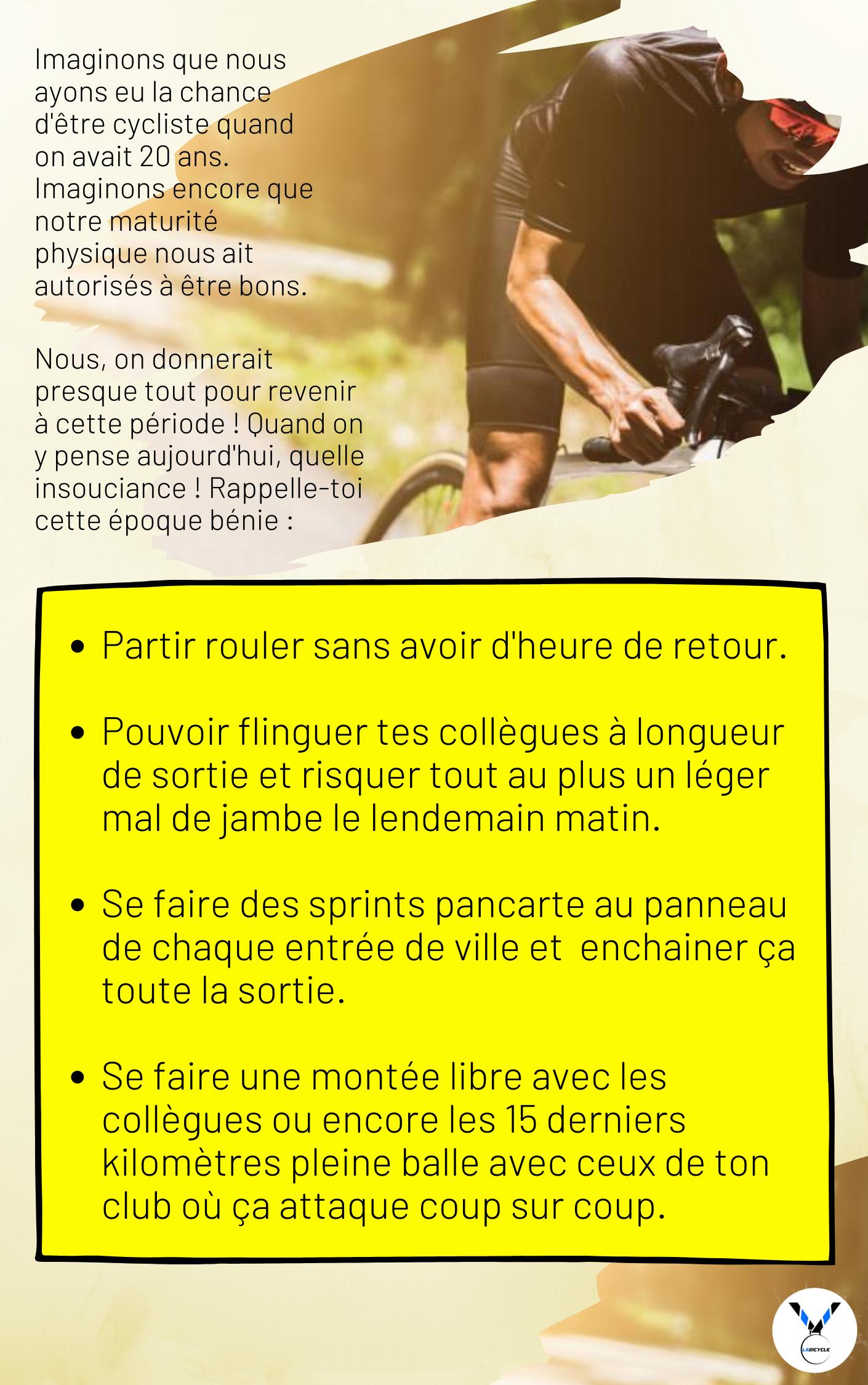 Maîtriser les changements de rythme cycliste