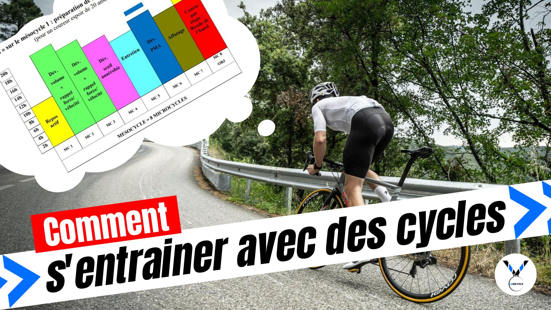 Comment bien s'entrainer en cyclisme avec des cycles