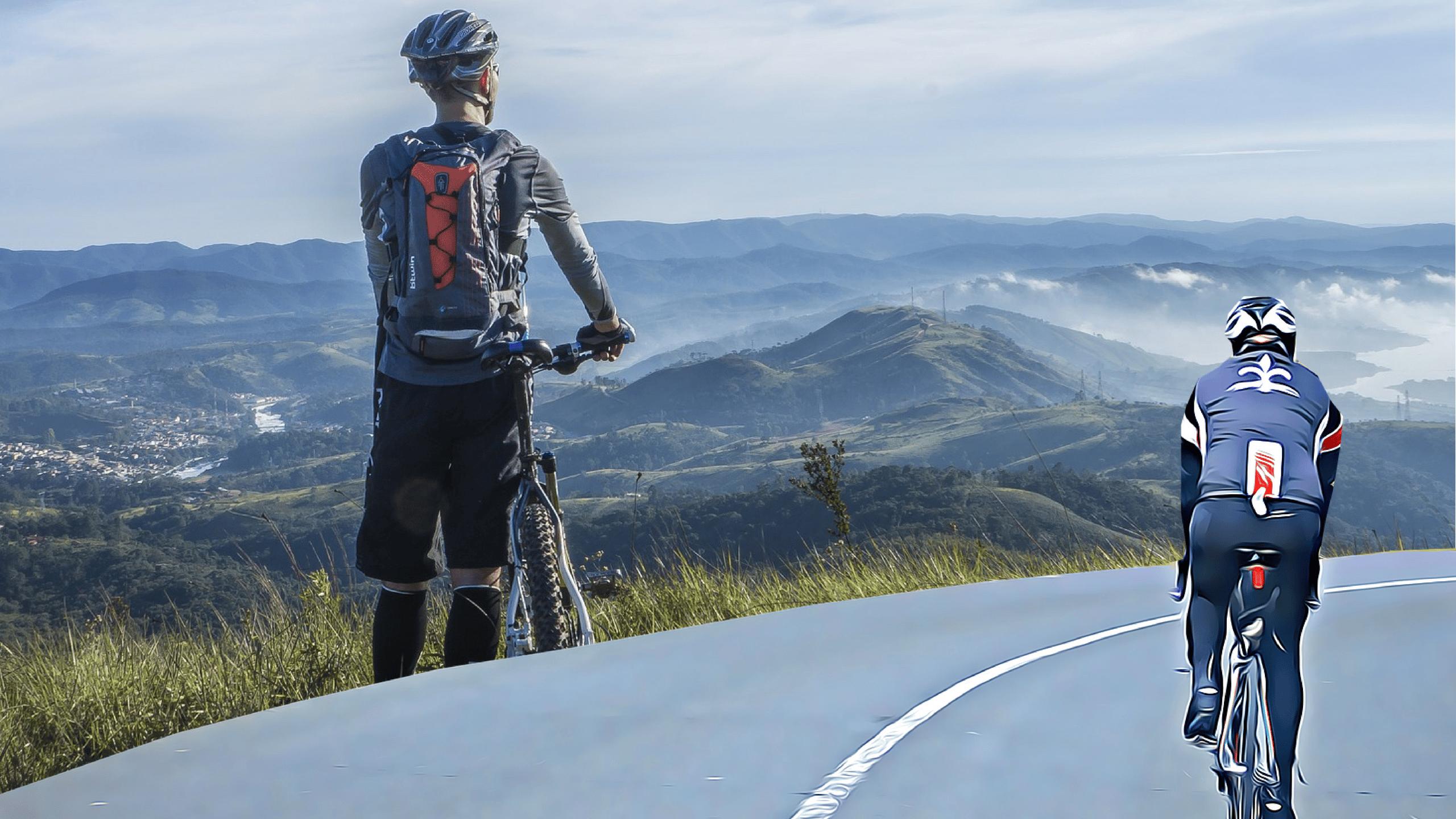 Cycliste et vététiste, peut-on être les deux à la fois ?