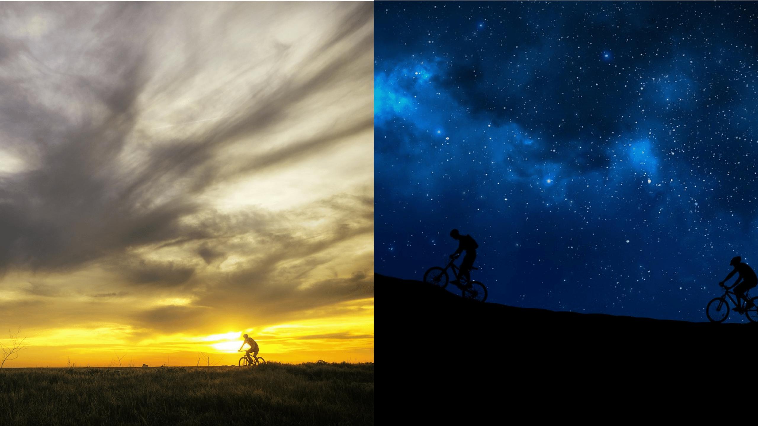 Quel est le meilleur moment de la journée pour rouler à vélo ?
