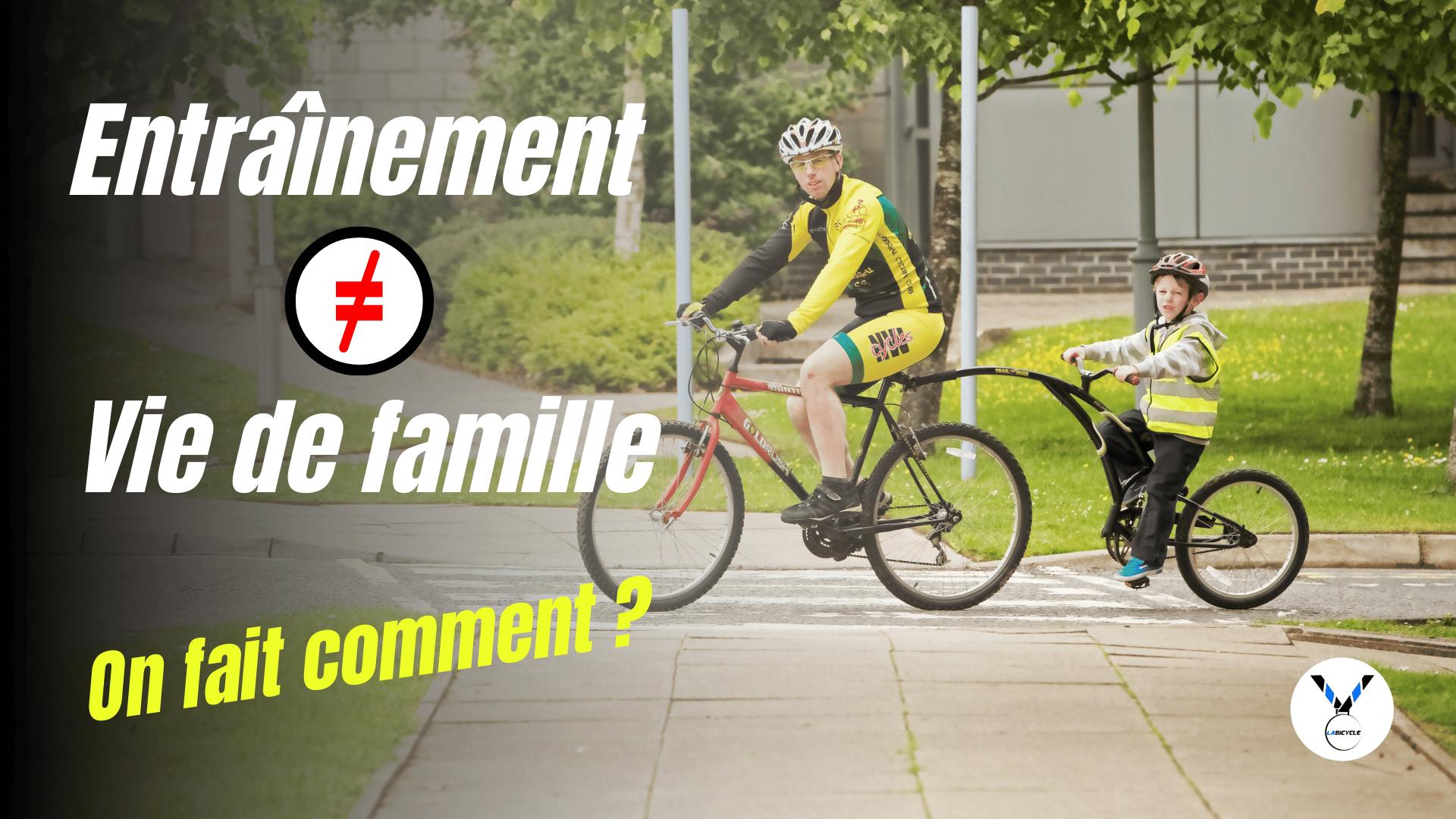 Concilier l'entraînement cycliste et sa vie