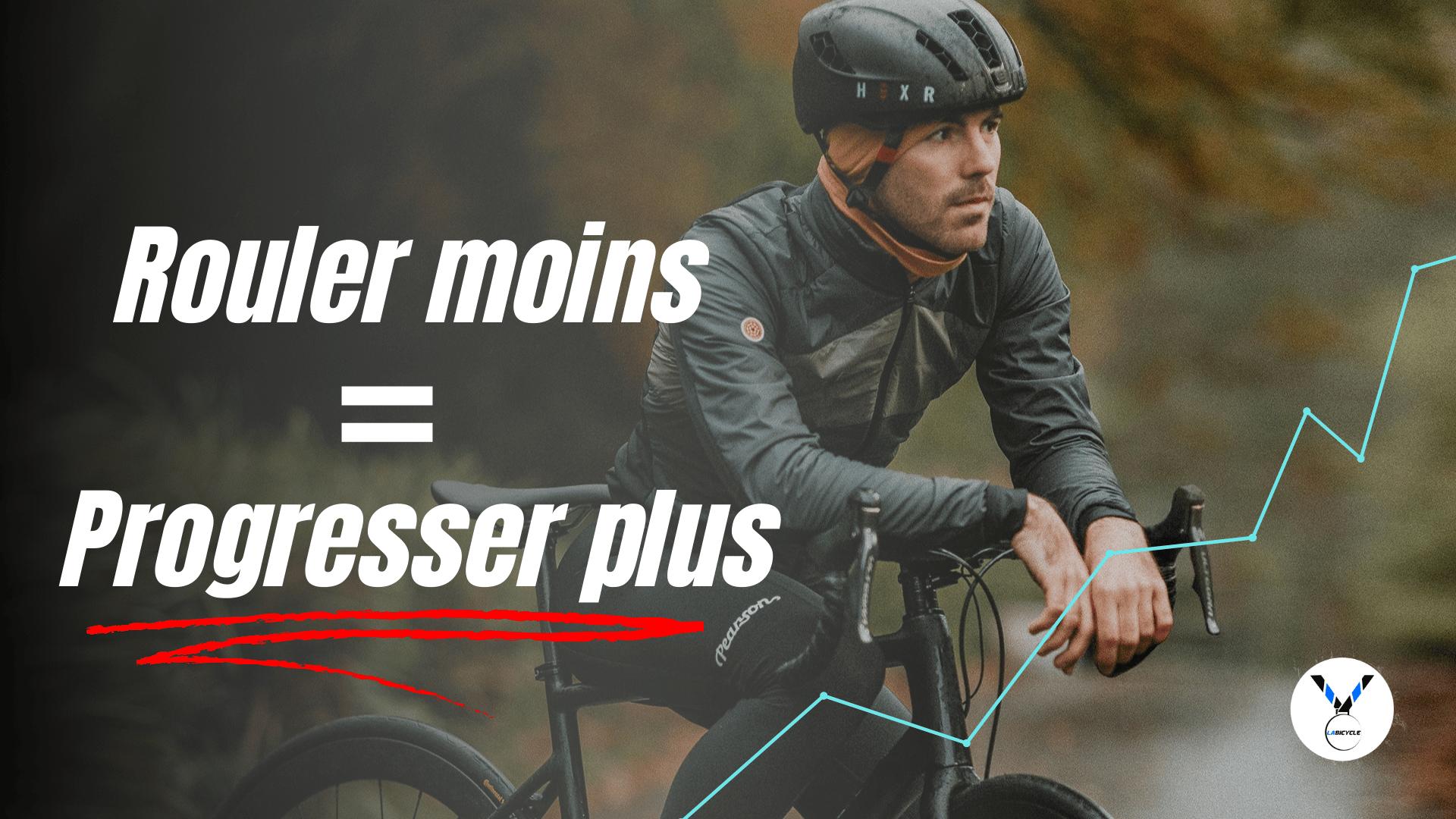 Rouler moins et progresser grâce à un coach cycliste : le point