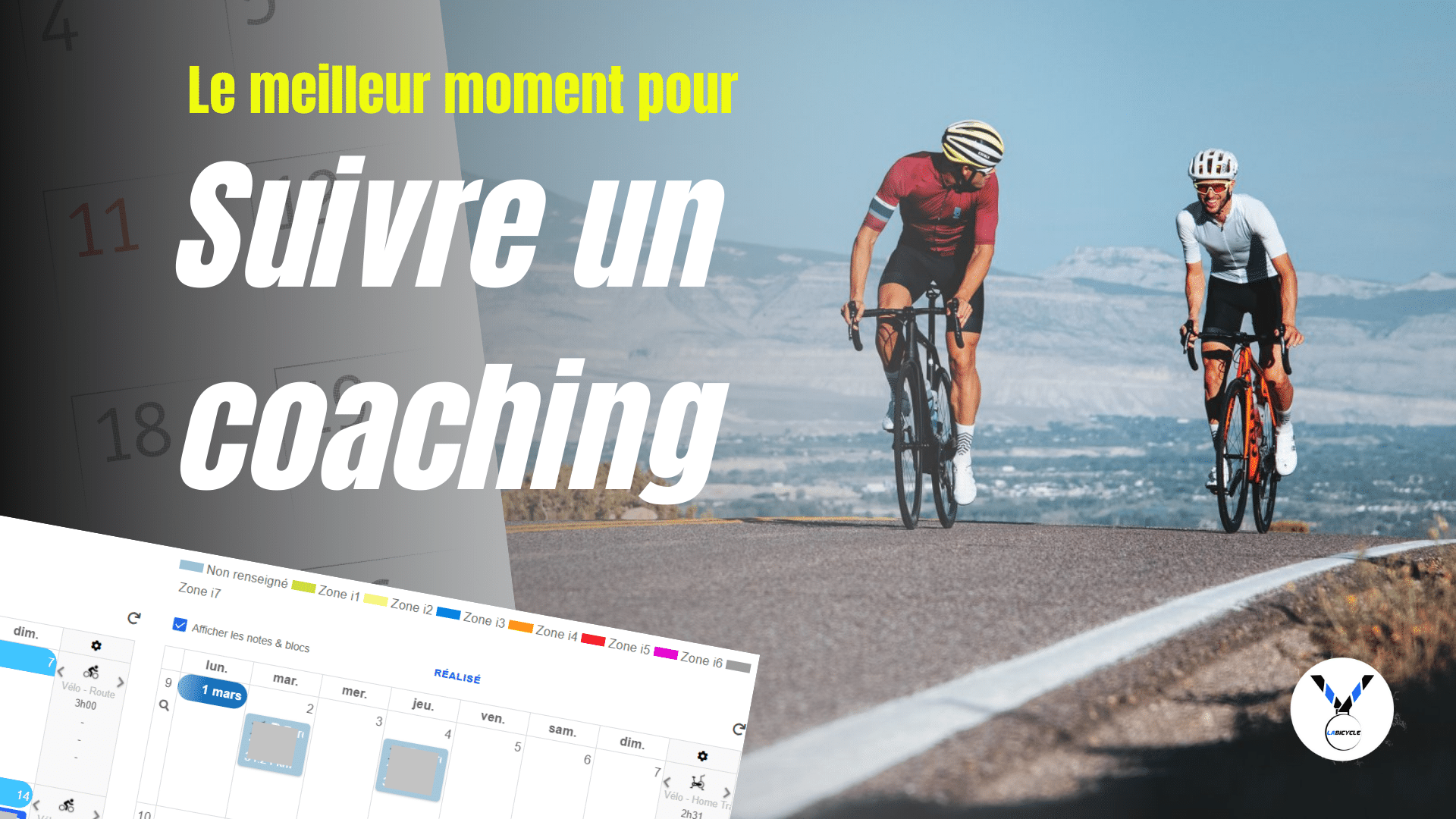 Quel est le meilleur moment pour faire du coaching cycliste ?